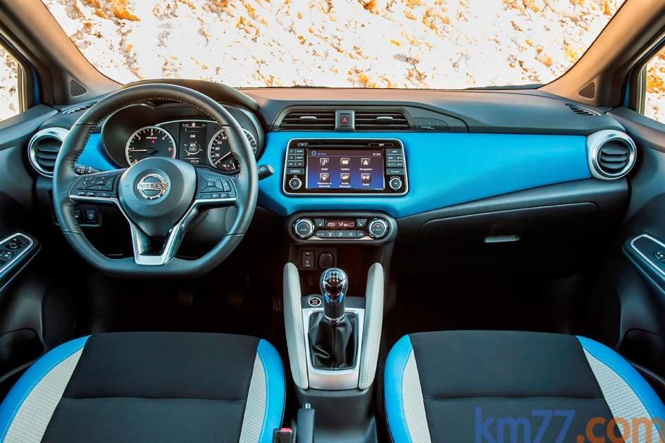 Aspecto interior del Nissan Micra