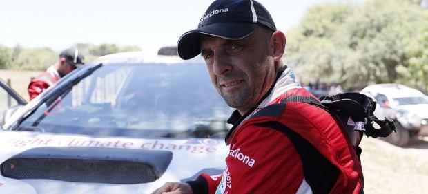 Ariel Jatón, piloto del ACCIONA 100% EcoPowered
