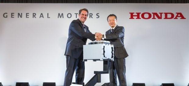 Honda y GM trabajan juntos con la pila de hidrógeno