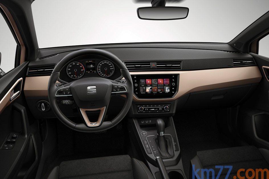 Interior del SEAT Ibiza con acabado Excellence