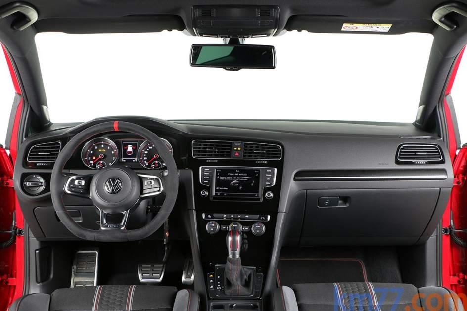 Aspecto interior del Volkswagen Golf GTI Clubsport