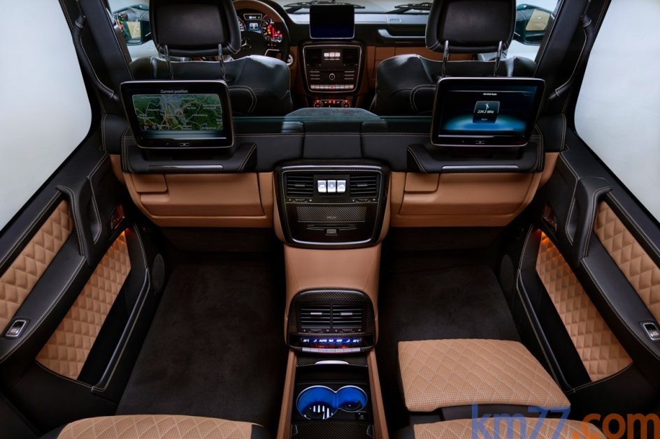 Aspecto interior del Mercedes-Maybach G 650 Landaulet
