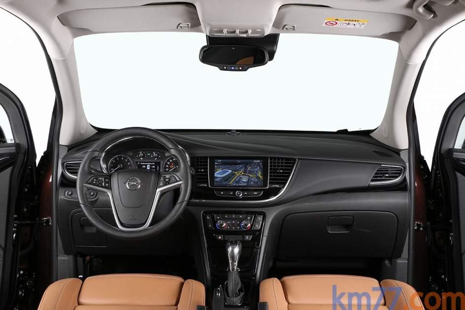 Aspecto interior del Opel Mokka X