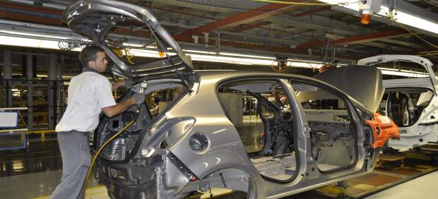 Fábrica de GM en Figueruelas (Zaragoza)