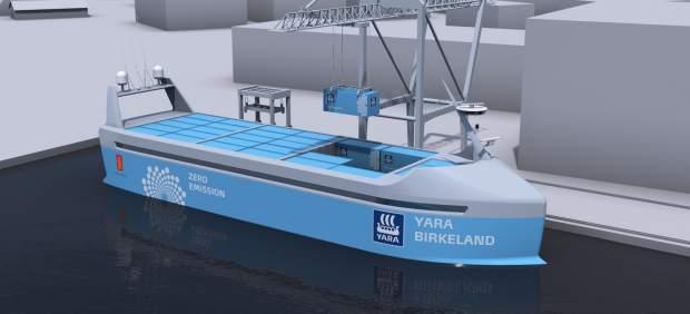 El primer carguero autónomo del mundo