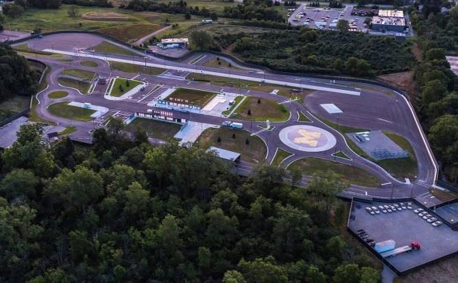 MCity era la ciudad más grande dedica a las pruebas del coche autónomo.