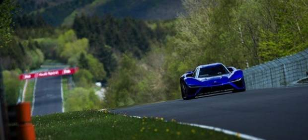 Récord de velocidad en Nürburgring