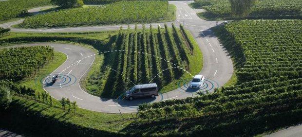 Comunicación entre vehículos