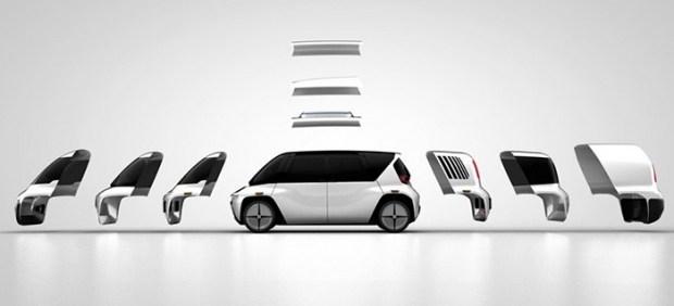El vehículo autónomo, modular y editable