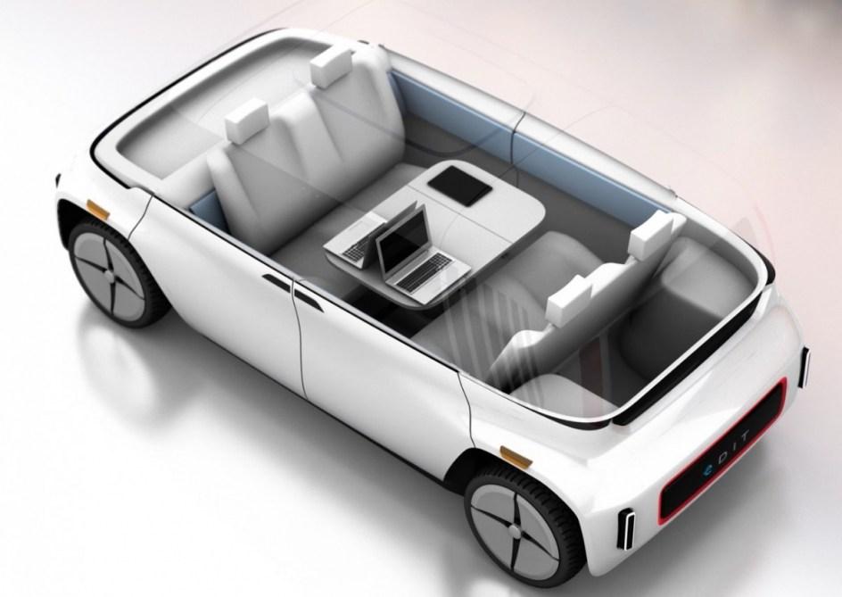 Si eliges la conducción convencional puedes adaptar el interior del vehículo a tu gusto.
