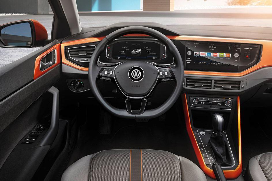 Interior del Volkswagen Polo