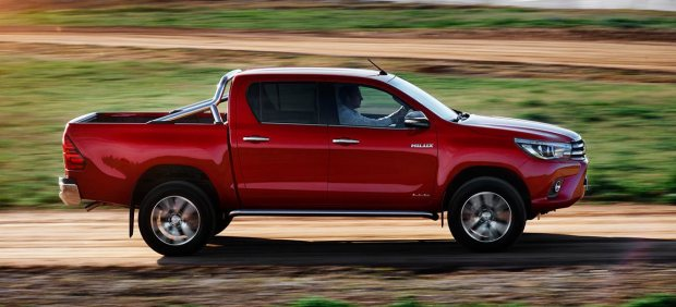 Ejemplo de 'pick up': Toyota Hilux