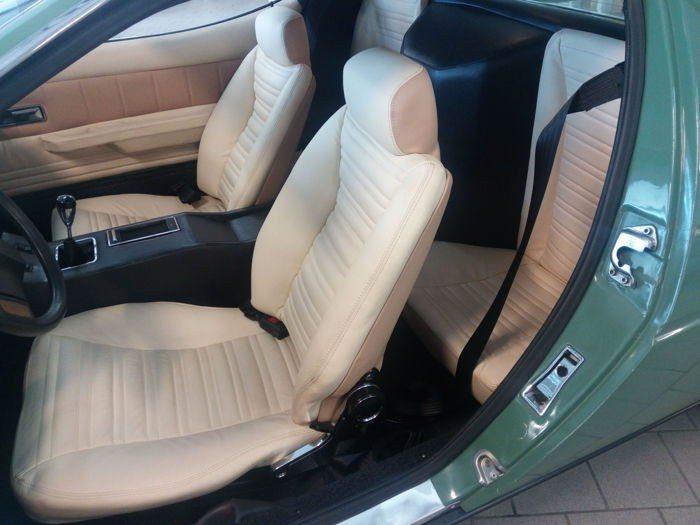 Interior del Maserati Merak de Dodi Al-Fayed