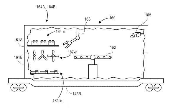 Patente de Amazon sobre entrega de productos con drones