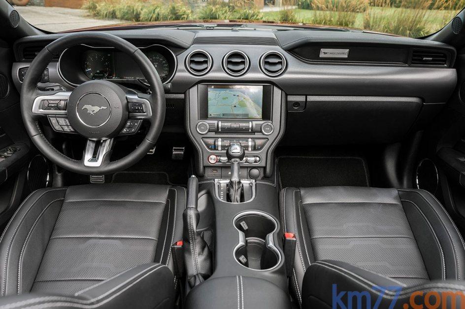 Interior del Ford Mustang