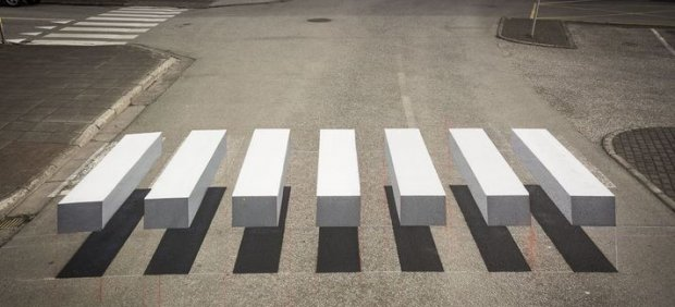 Paso de peatones en 3D