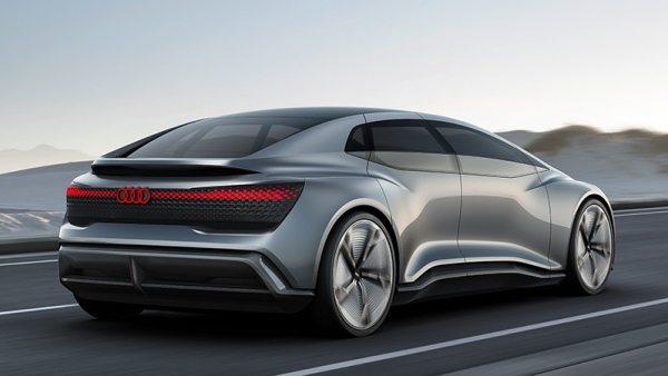 Parte trasera del Audi Aicon concept