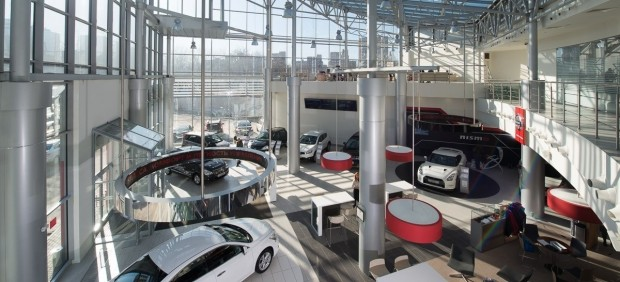 Concesionario de Nissan