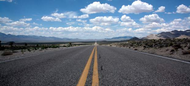 Evita conducir por carreteras secundarias