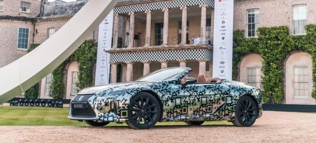 Así es el exclusivo descapotable de Lexus.