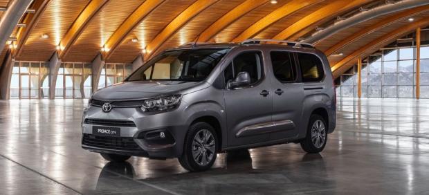 Proace City, el primer vehículo totalmente eléctrico de Toyota.