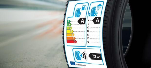 Etiquetado europeo del neumático